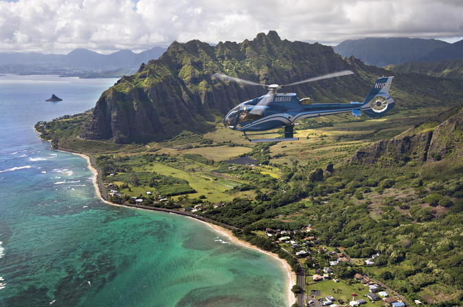Complete Island Eco Helicopter Small Group Tour from Oahu