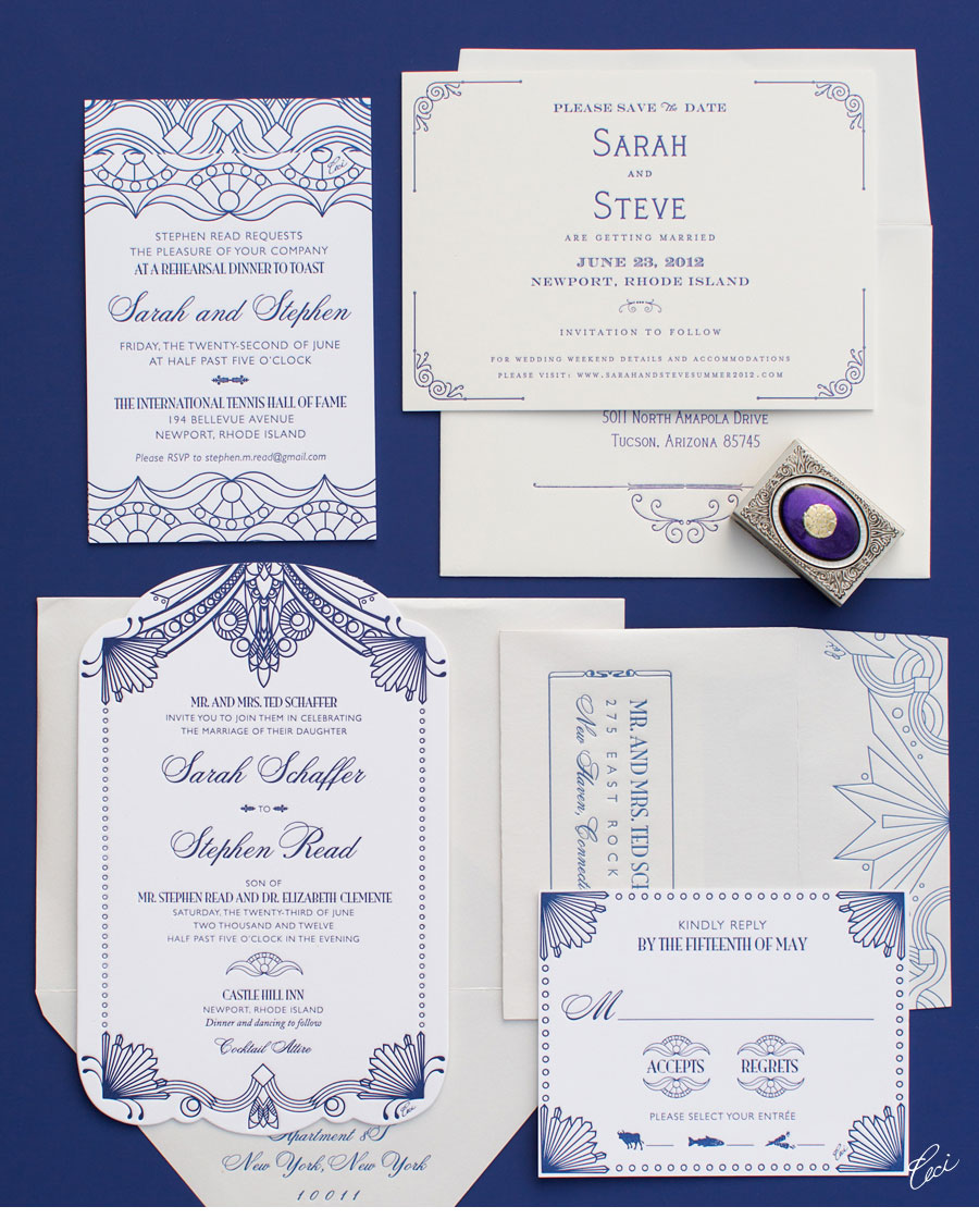 v our muse s inspired outdoor wedding sarah stephen part 1 gatsby wedding invitations Luxury Wedding Invitations by Ceci New York Our Muse s Inspired Outdoor Wedding