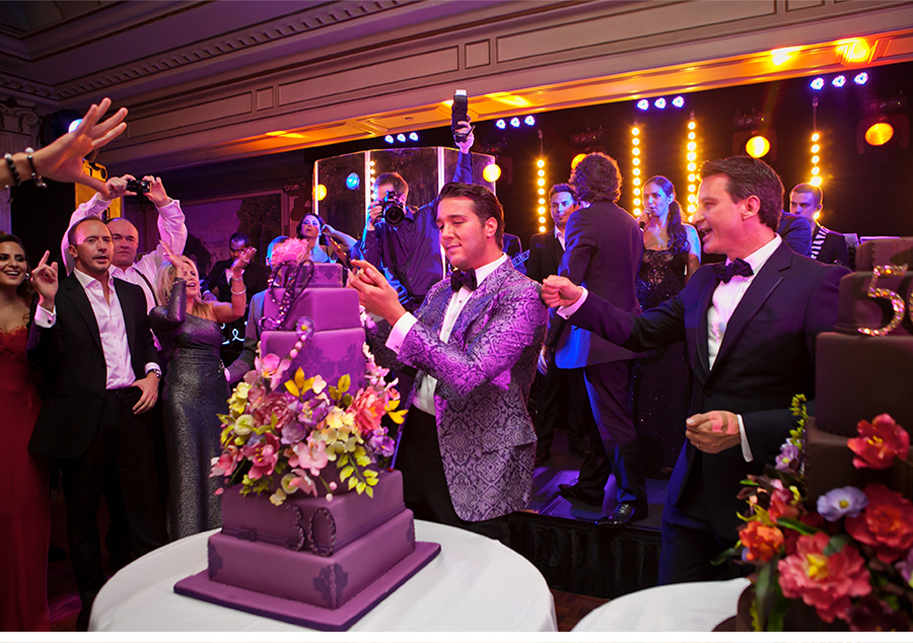 royal purple and gold wedding decorations purple and gold wedding V Our Muse Paris Luxury Wedding Lucas Thierry Part 3