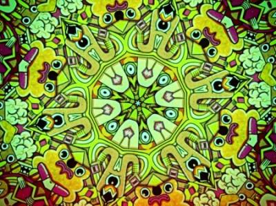Spanish mandala - Mind Teasers & Abstract Background ...
