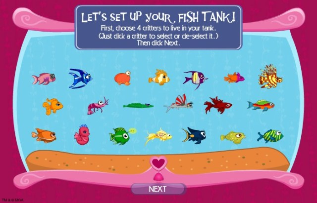 Bratz Fish Tank Hacked (Cheats)   Hacked Free Games