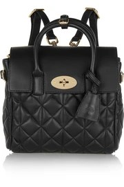 + Cara Delevigne mini quilted leather backpack