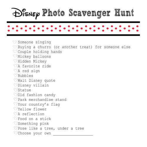 Medium Crop Of Photo Scavenger Hunt Ideas