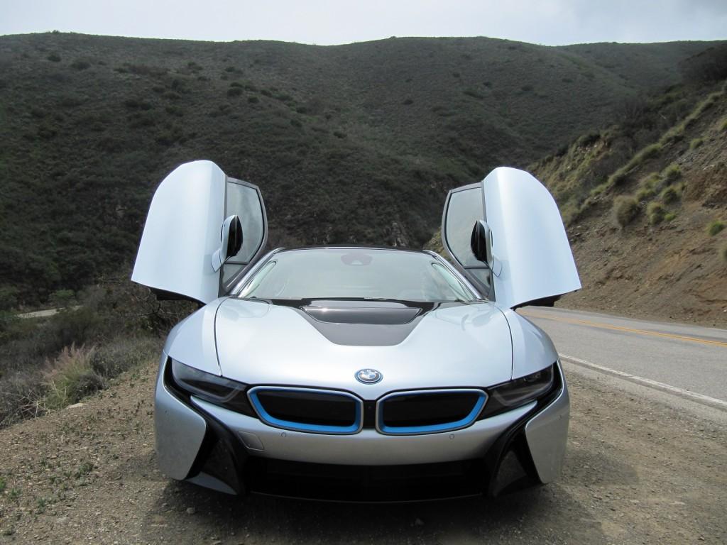 BMW I8 Exterior Front End