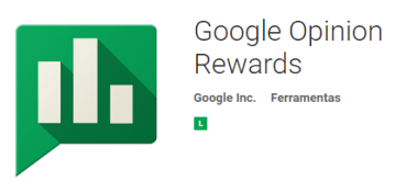 google opinion rewards cada centavo conta