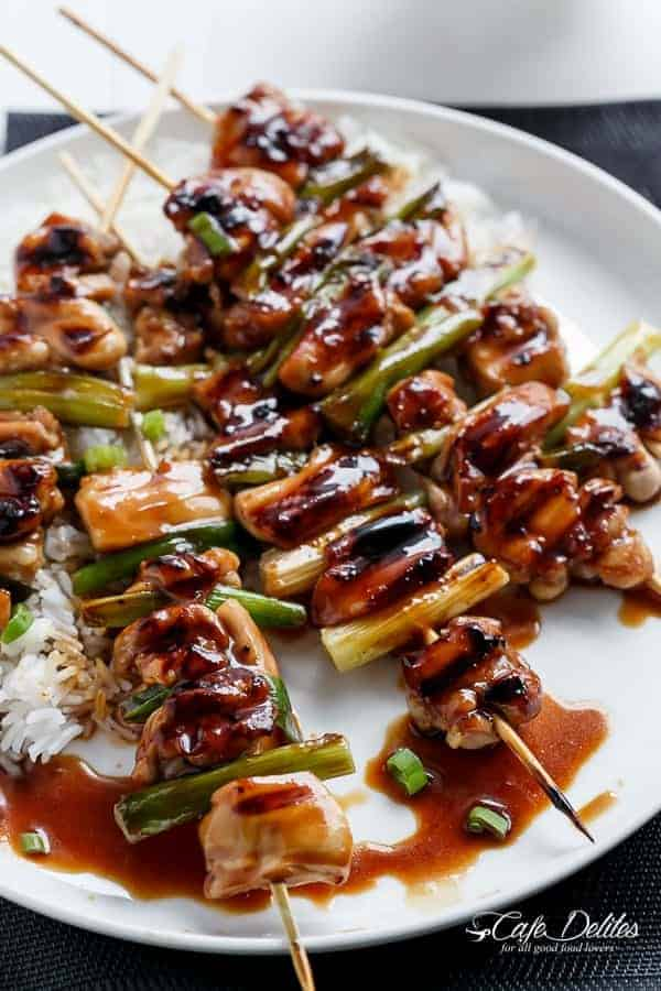 sauce with honey and lime chicken yakitori with honey chicken yakitori ...