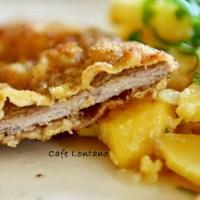 Wiener Schnitzel ve Viyana Usulü Patates Salatası