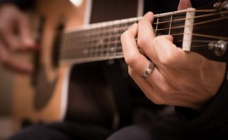 Playing-Guitar-Christian-Stock-Photo