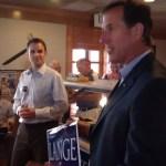 Rick Santorum Stumps for Ben Lange in Iowa 1st Congressional District Race