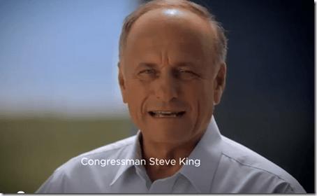Congressman Steve King - TV Ad Screenshot