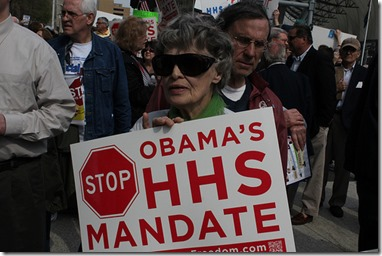 STOP HHS Mandate Rally - Detroit 3/23/2012