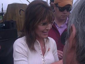 Sarah Palin Indianola