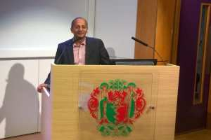 Professor Niro Siriwardena on primary care management of insomnia at Royal Society of Medicine