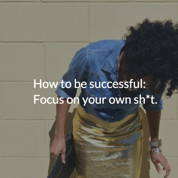 How to be successful via CailaKSpeaks