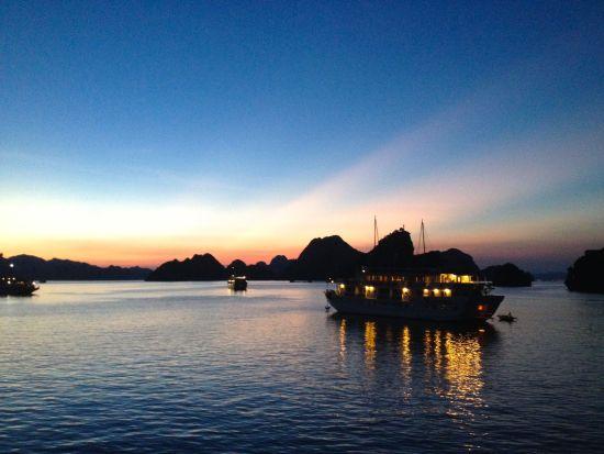 halang bay sunset
