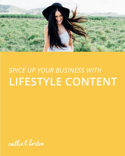 Spice Up Your Business with Lifestyle Content | Horton ...