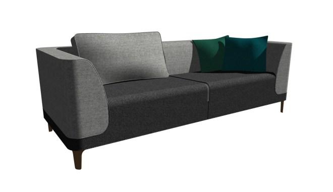 Modul sofa Boxer lav 2