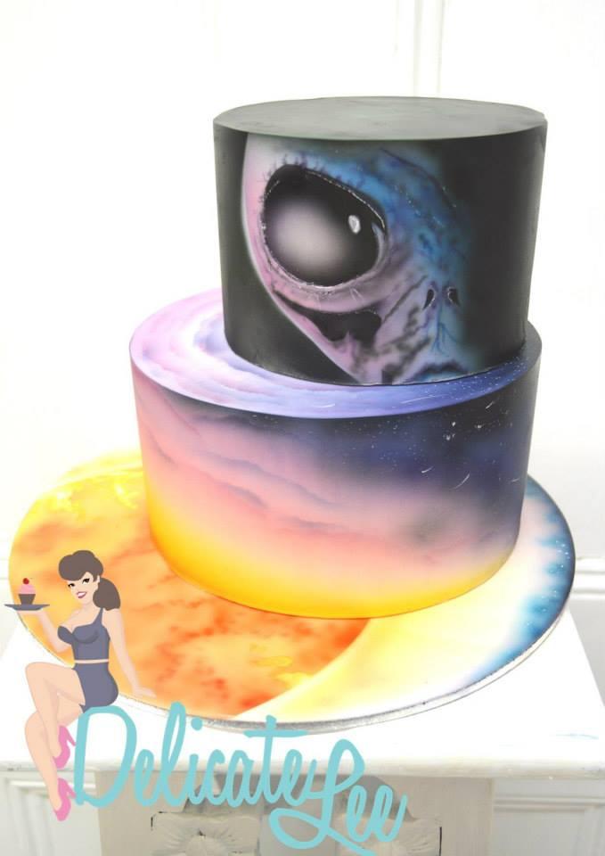 cake board art