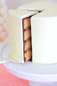 White Chocolate Mud Cake with Mocha Buttercream