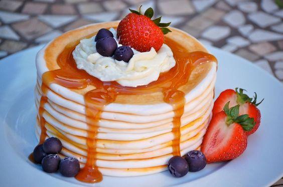 Pancake cake