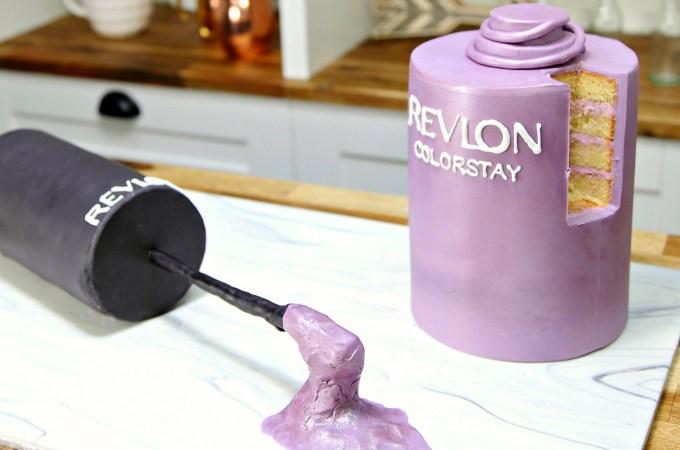 Revlon Nail Polish Cake