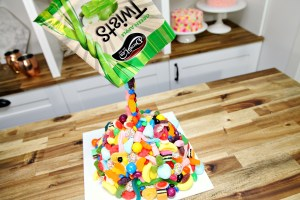Giant Candy Mountain Cake