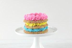 Sprinkle Cookie Cake