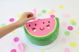 Cute Watermelon Cake