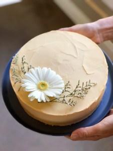 Triple Citrus White Chocolate Mud Cake