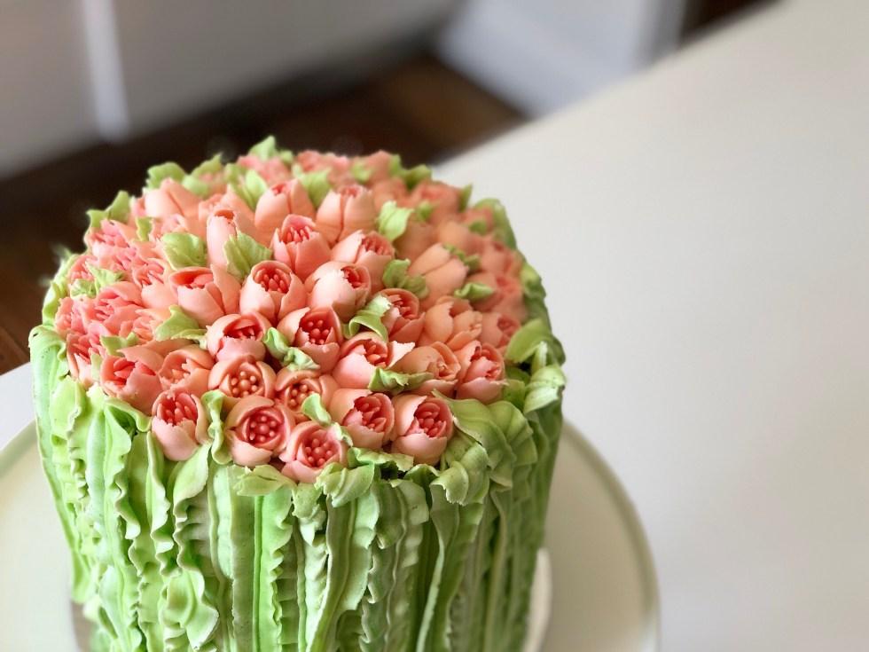 tulip cake shot