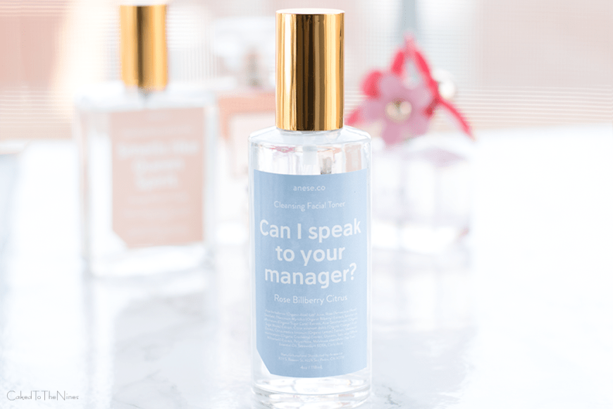 Anese Facial Toner Can I Speak To Your Manager? review