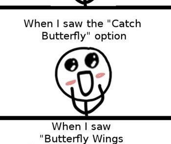 Skyrim butterflies