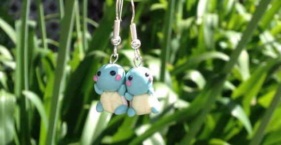 Squirtle Earrings