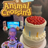 Animal Crossing New Horizons Birthday Cake Recipe