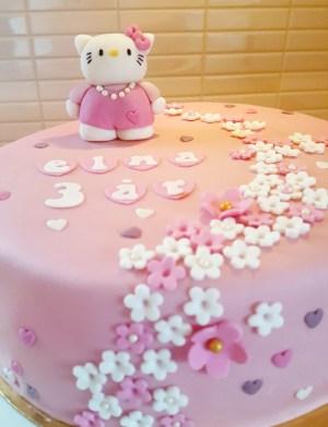 Hello Kitty-tårtan