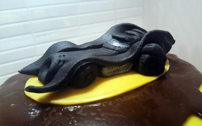 Batmobile-tårtan