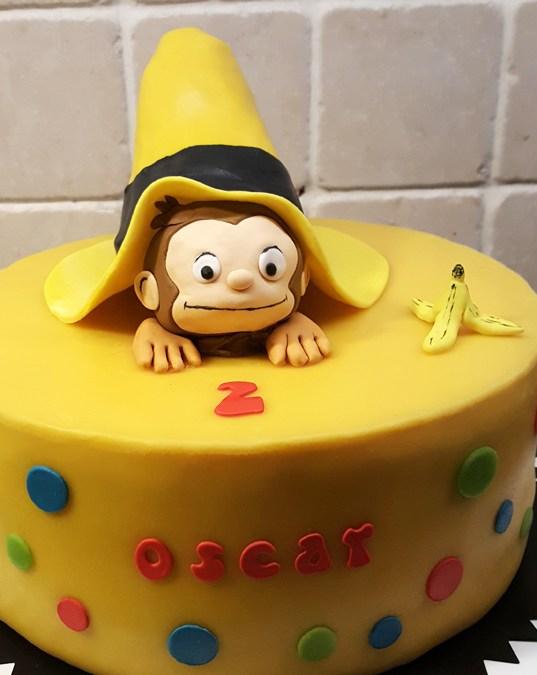 Nicke Nyfiken-tårtan