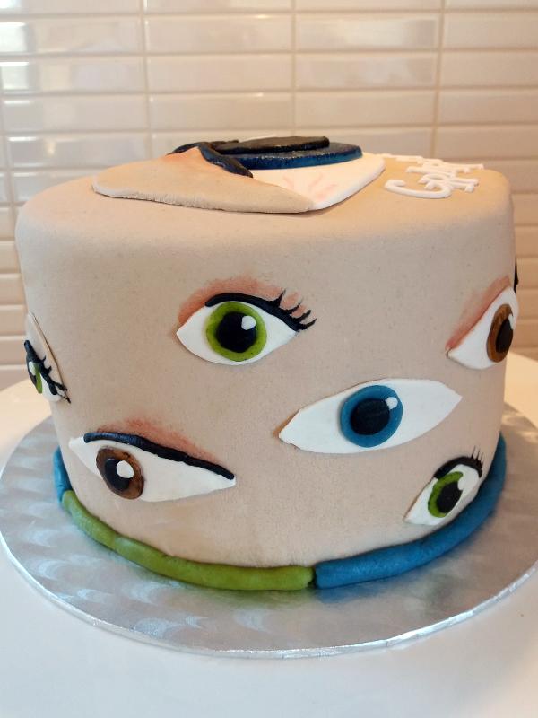 Eye cake - ögontårtan