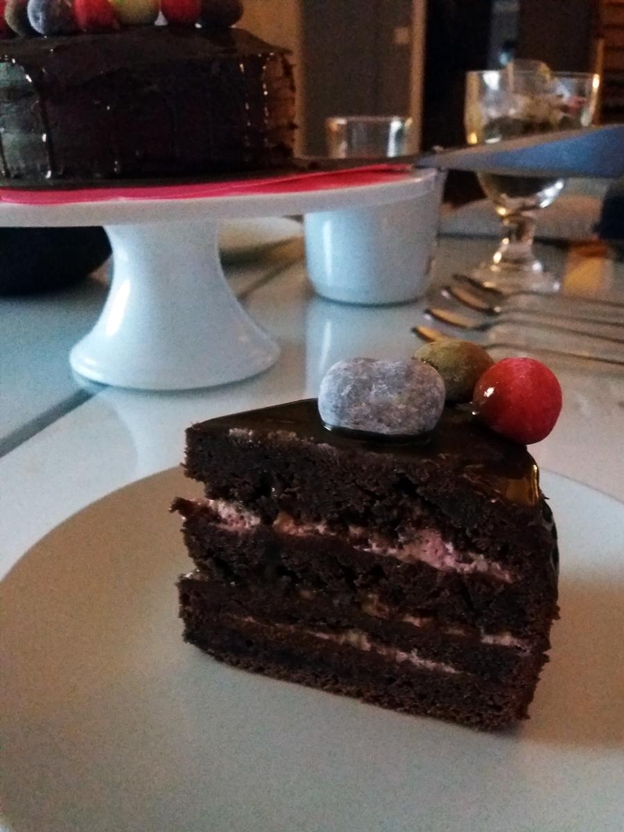 Chocolate cake - chokladtårta