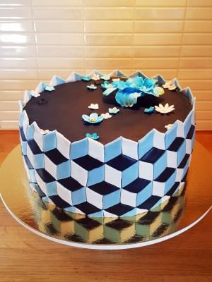 Geometrisk tårta