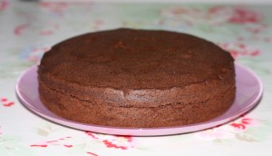 Chocolate Madeira cake