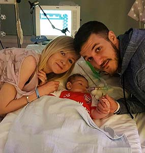 Charlie Gard a 10-month old boy in England