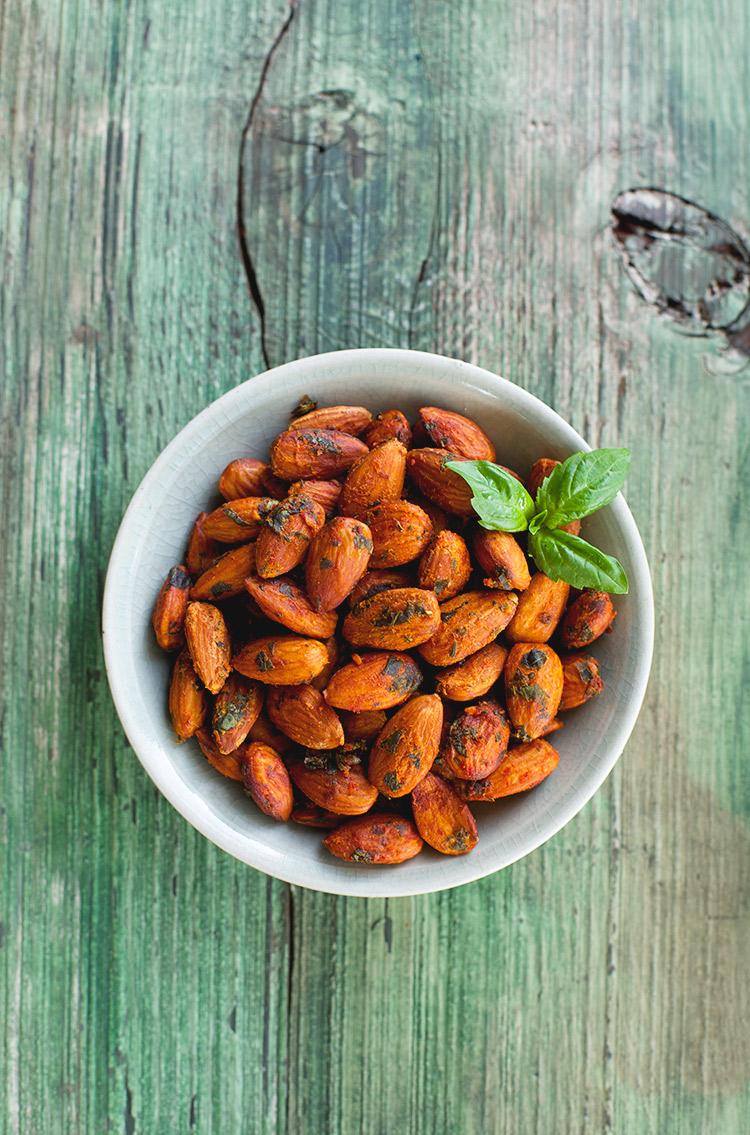 Tomato-Basil-Almonds