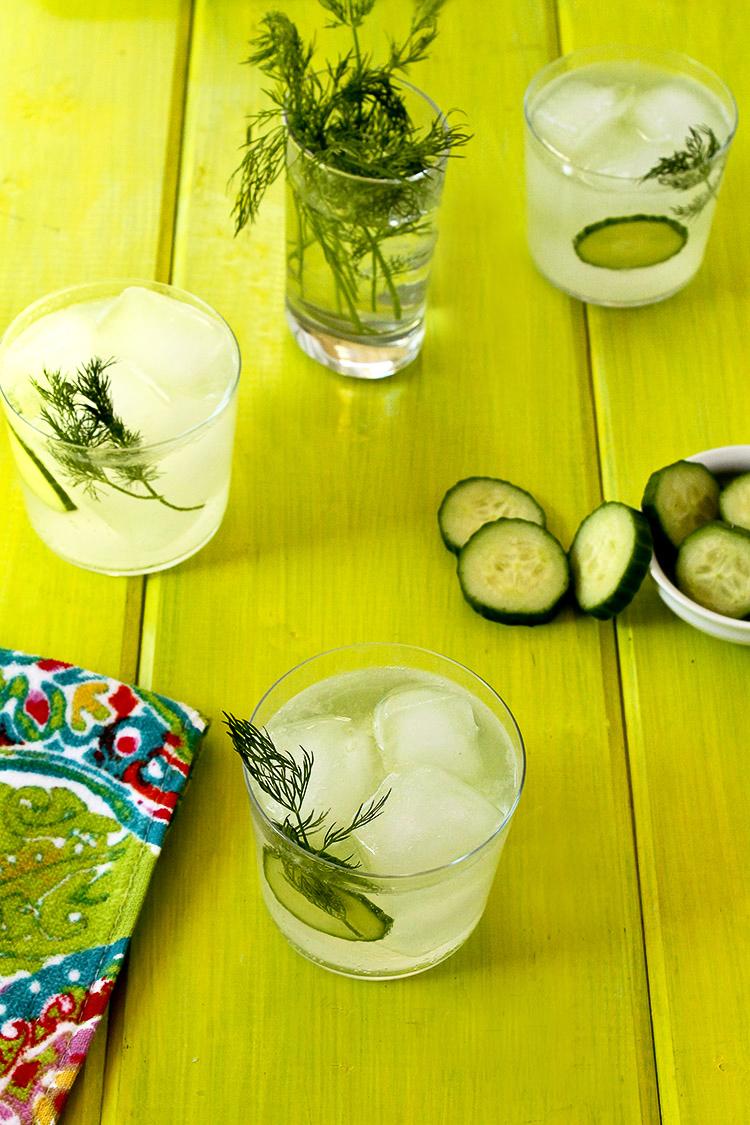 Cucumber-Dill Rickey