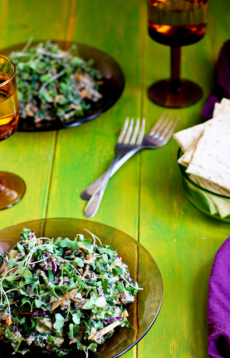 Wild-Rice-Kale-Salad-with-Spicy-Cauliflower-Pesto
