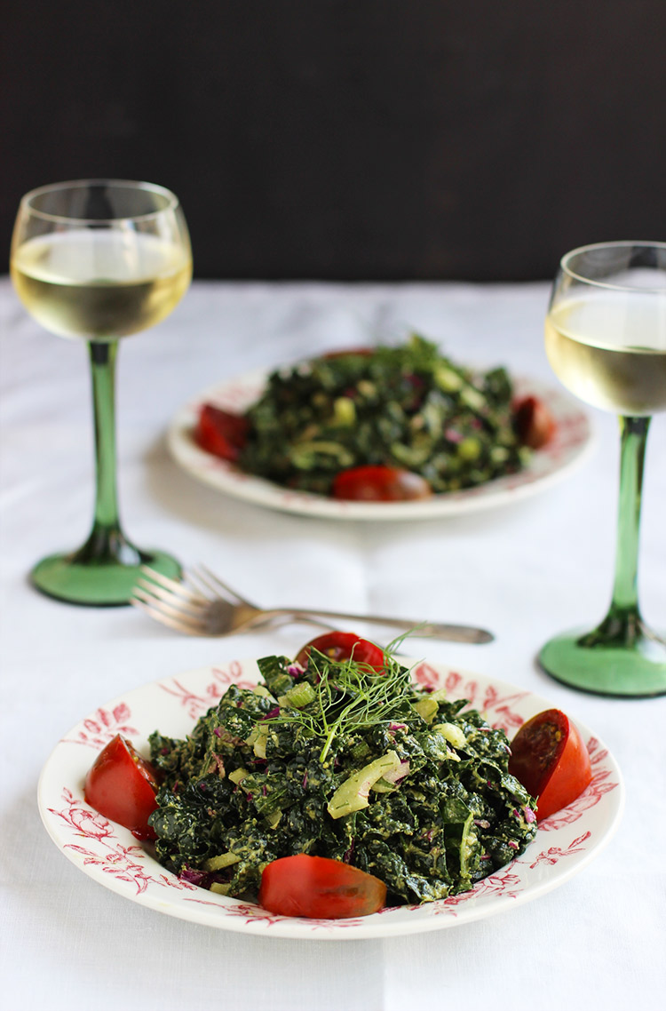 Kale-Fennel-Salad