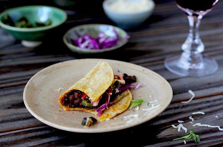 Vegetarian-Black-Lentils-Tacos