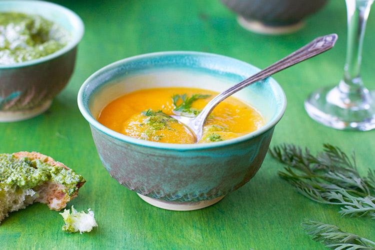 Carrot-Red-Lentil-Soup