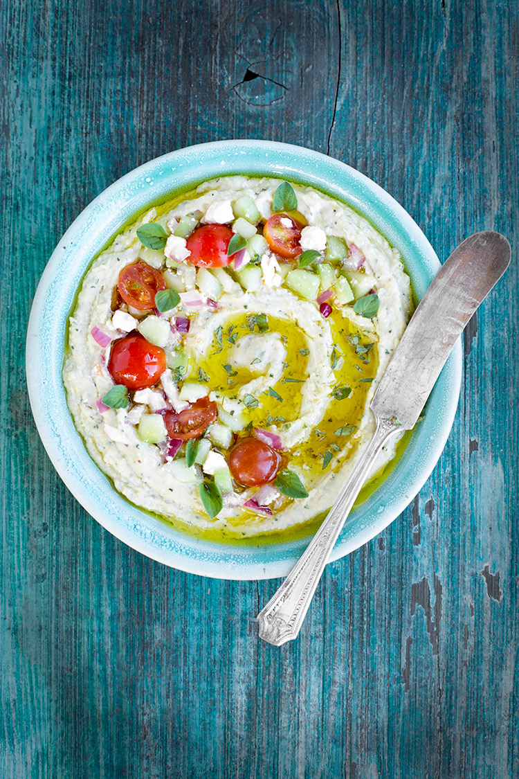 Oregano Feta Hummus
