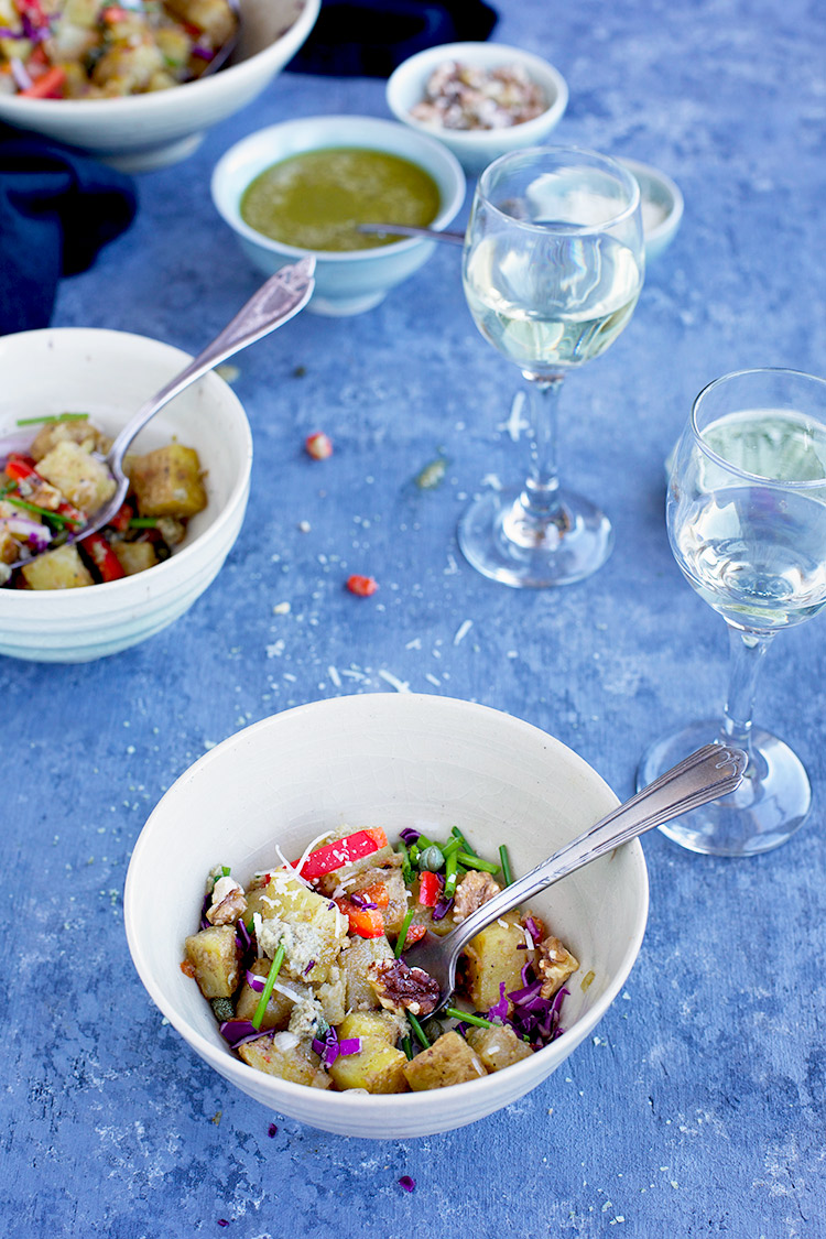 Pecorino Roasted Potato Salad